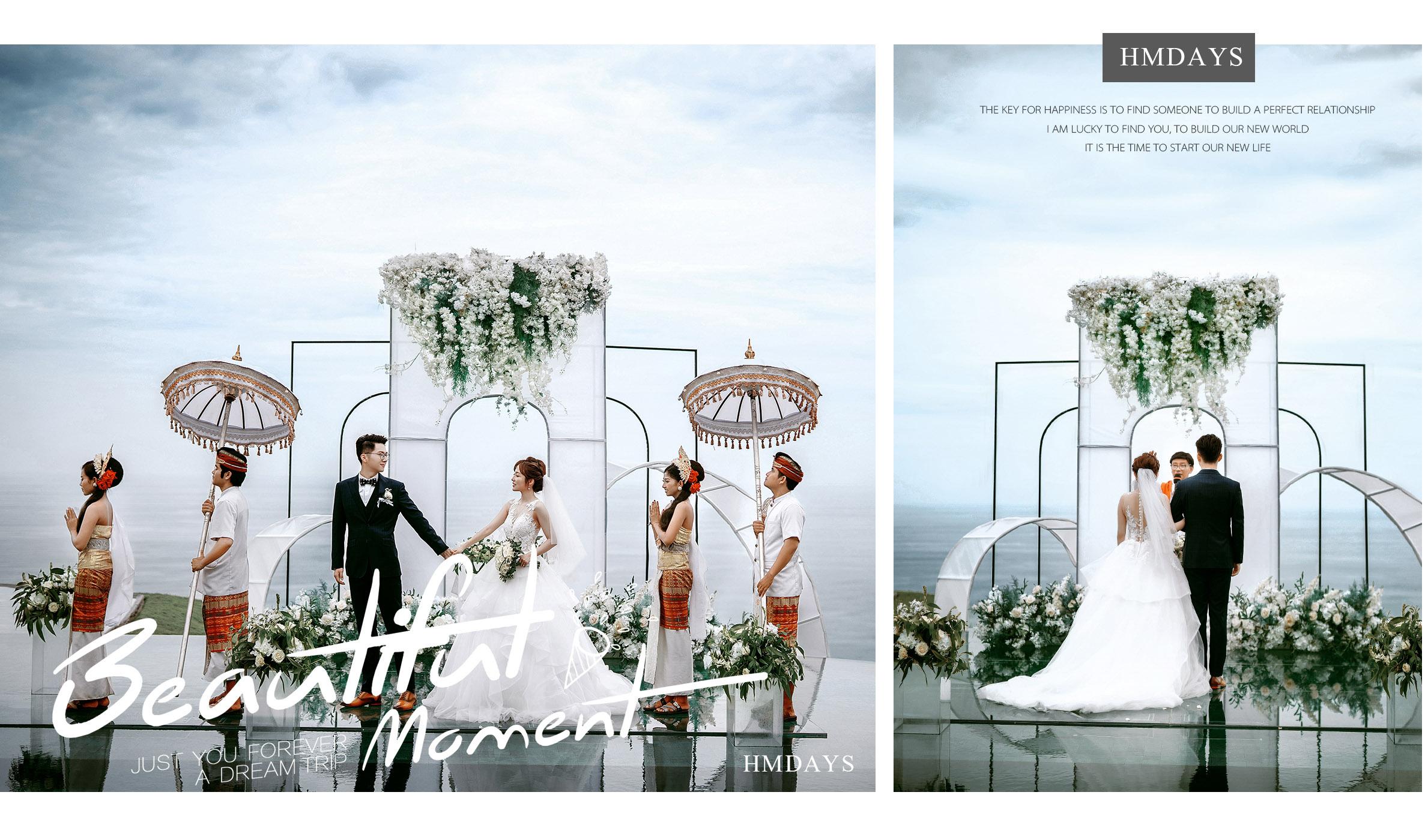 巴厘岛天空之镜水台婚礼|海外婚礼|海外婚纱摄影|照片