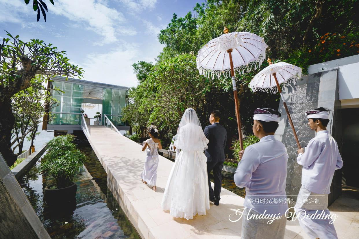 巴厘岛水晶教堂婚礼客片