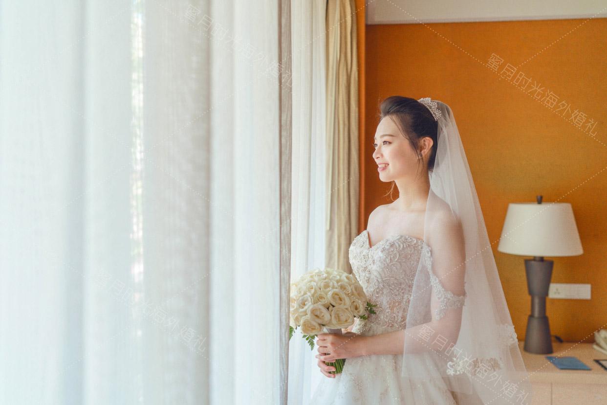 港丽无限教堂婚礼+升级布置|我们蜜月时光海外婚礼特别给新人准备的独属于新娘的化妆间|海外婚礼