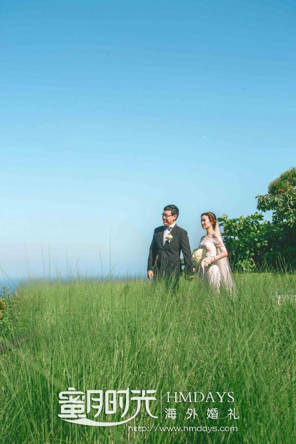水之教堂婚礼+次日全天外景|水之教堂乌鲁瓦图悬崖婚纱照|海外婚礼