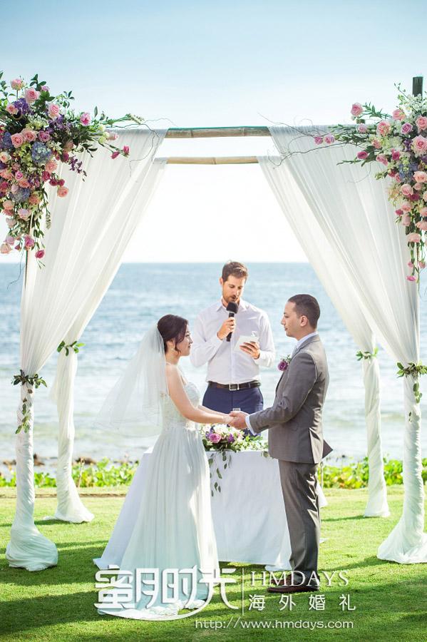普吉岛纳卡海景草坪婚礼|海外婚礼|海外婚纱摄影|照片