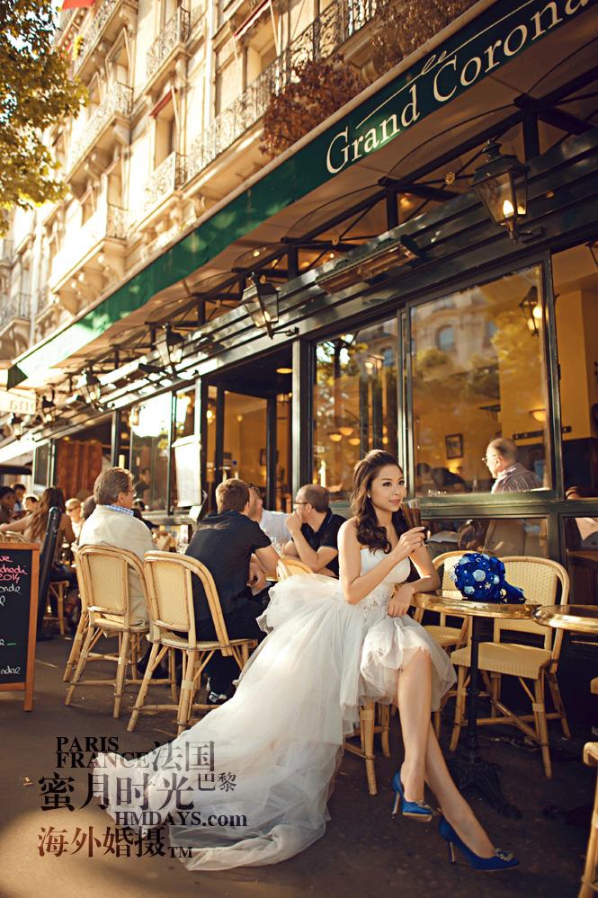 法国巴黎市区一日拍摄|婚纱摄影法国|海外婚礼