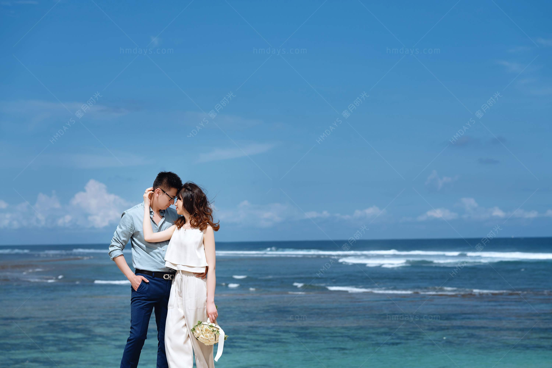 巴厘岛水之教堂婚纱摄影客片|海外婚礼|海外婚纱摄影|照片