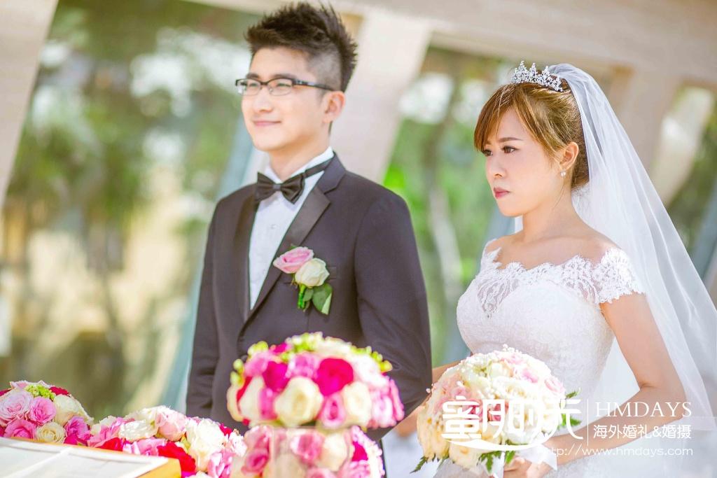 无限教堂婚礼+floating garden晚宴|康纳德教堂婚礼仪式|海外婚礼