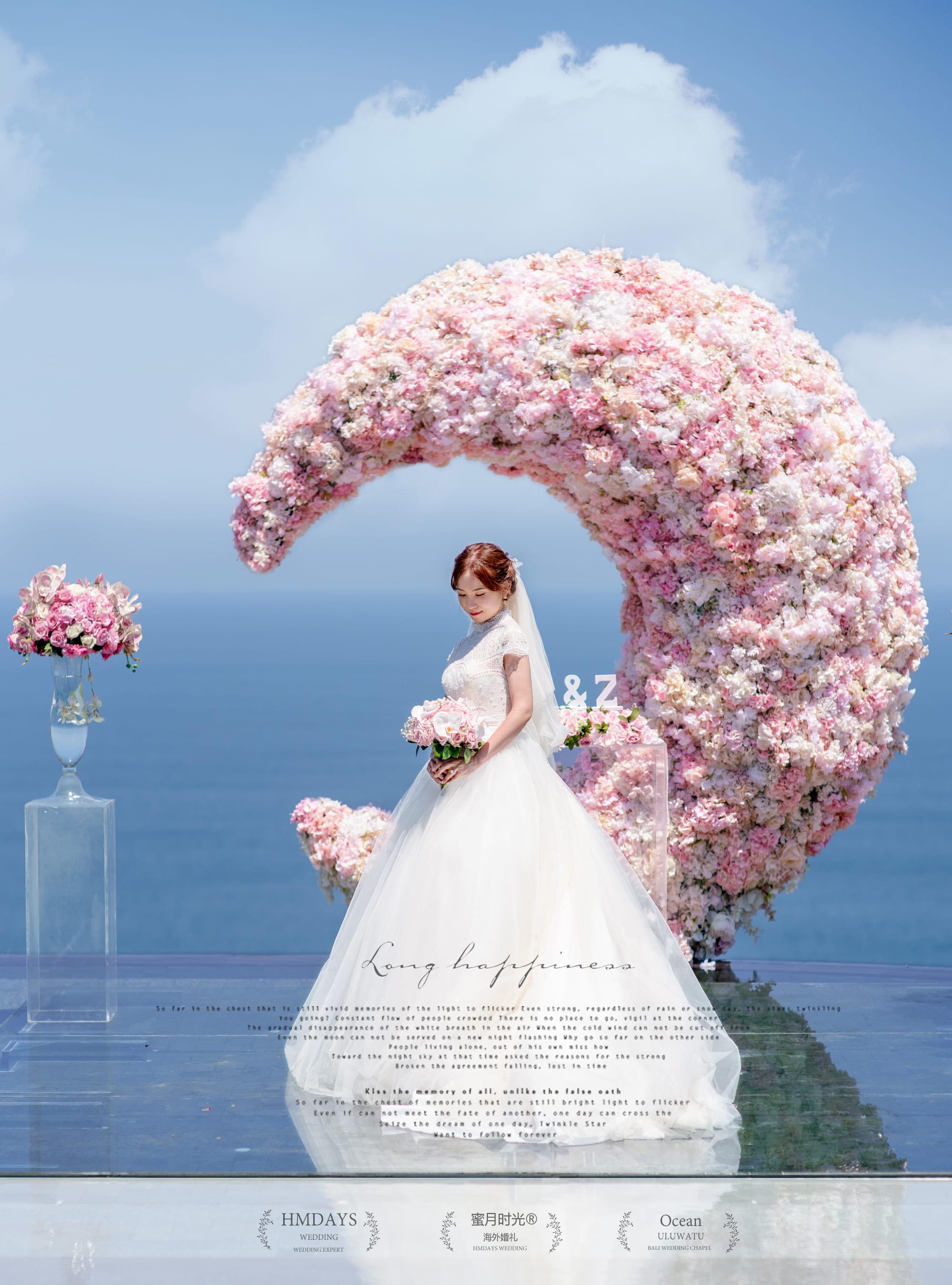 巴厘岛天空之境婚礼|海外婚礼|海外婚纱摄影|照片