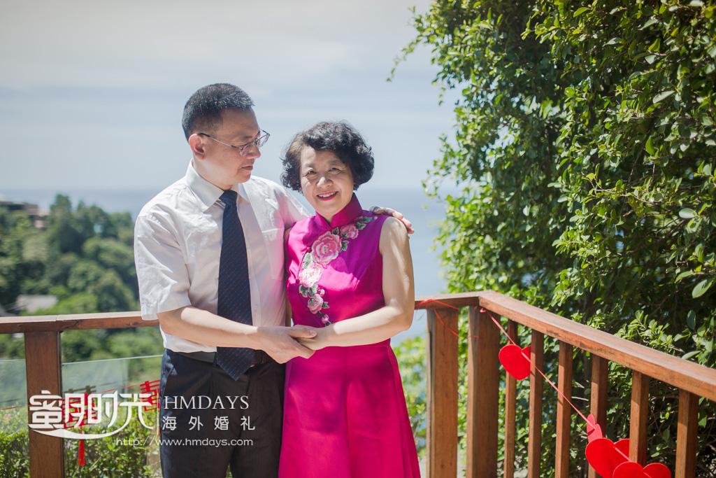 普吉岛帕瑞莎(paresa)婚礼客片  海外婚礼