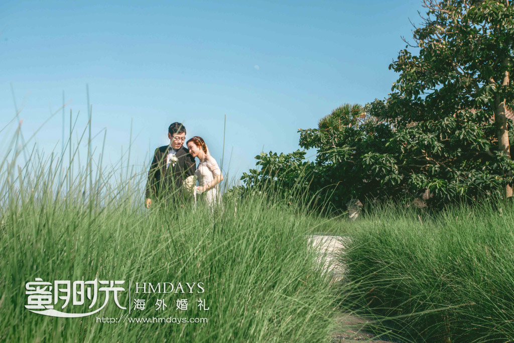 水之教堂婚礼+次日全天外景|乌鲁瓦图悬崖边取景拍摄|海外婚礼
