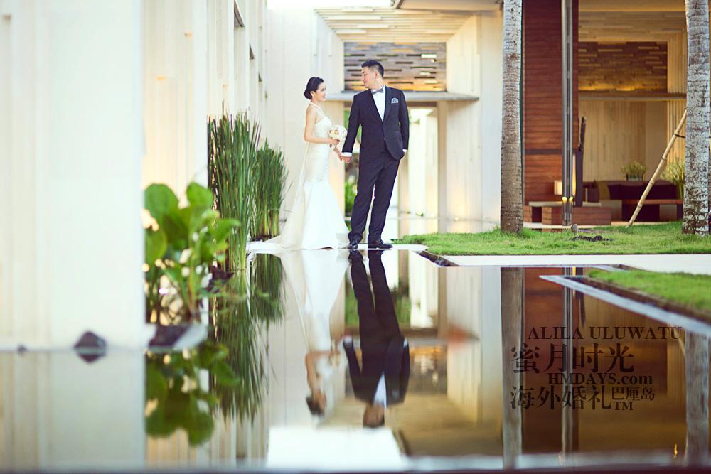 阿丽拉ALILA黄昏婚礼|HMDAYS外景婚纱摄影|海外婚礼