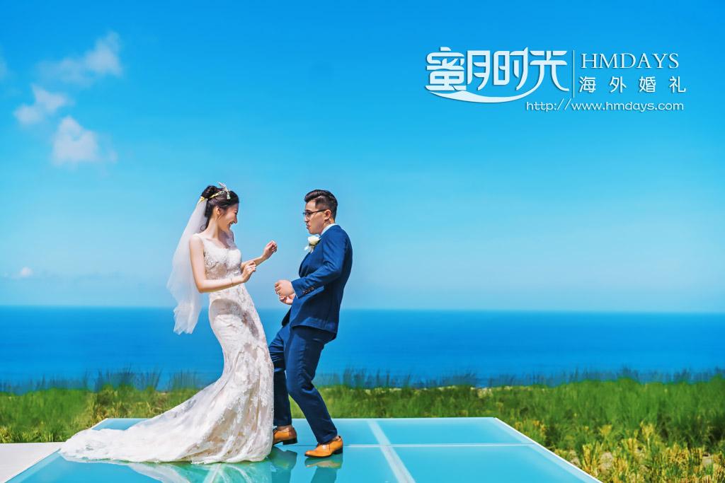 巴厘岛水之教堂婚礼+外景|水之教堂庭院拍摄|海外婚礼