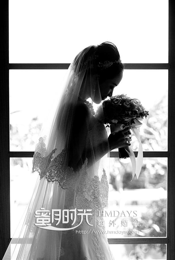 巴厘岛水之教堂婚礼照片(CHEN+XIE)