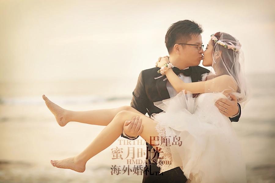 巴厘岛水之教堂婚礼+巴厘岛半日外景婚纱摄影|巴厘岛婚纱摄影,行走在金巴兰海滩上|海外婚礼