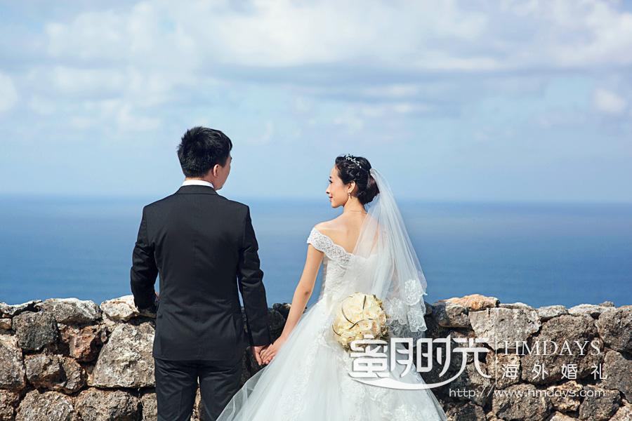水之教堂婚礼 让乌鲁瓦图见证爱的此生 海外婚礼