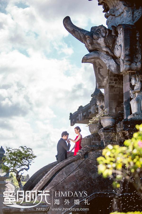 水之教堂婚礼+次日全天外景|巴厘岛艺术殿堂雷诺宫殿婚纱摄影取景|海外婚礼