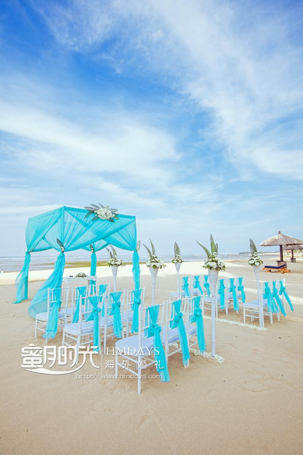 港丽沙滩婚礼(四门柱)|海外婚礼|海外婚纱摄影|照片