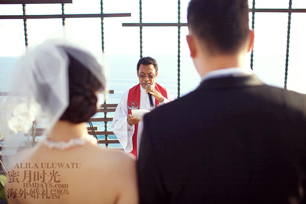 阿丽拉ALILA黄昏婚礼|牧师主持婚礼|海外婚礼