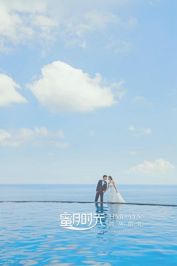 巴厘岛蓝点教堂婚礼+外景拍摄服务|海外婚礼|海外婚纱摄影|照片