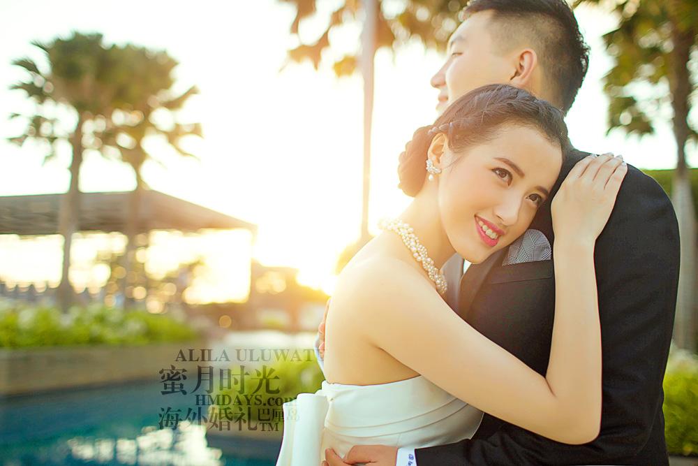 阿丽拉ALILA黄昏婚礼|蜜月时光海外婚礼拍摄|海外婚礼