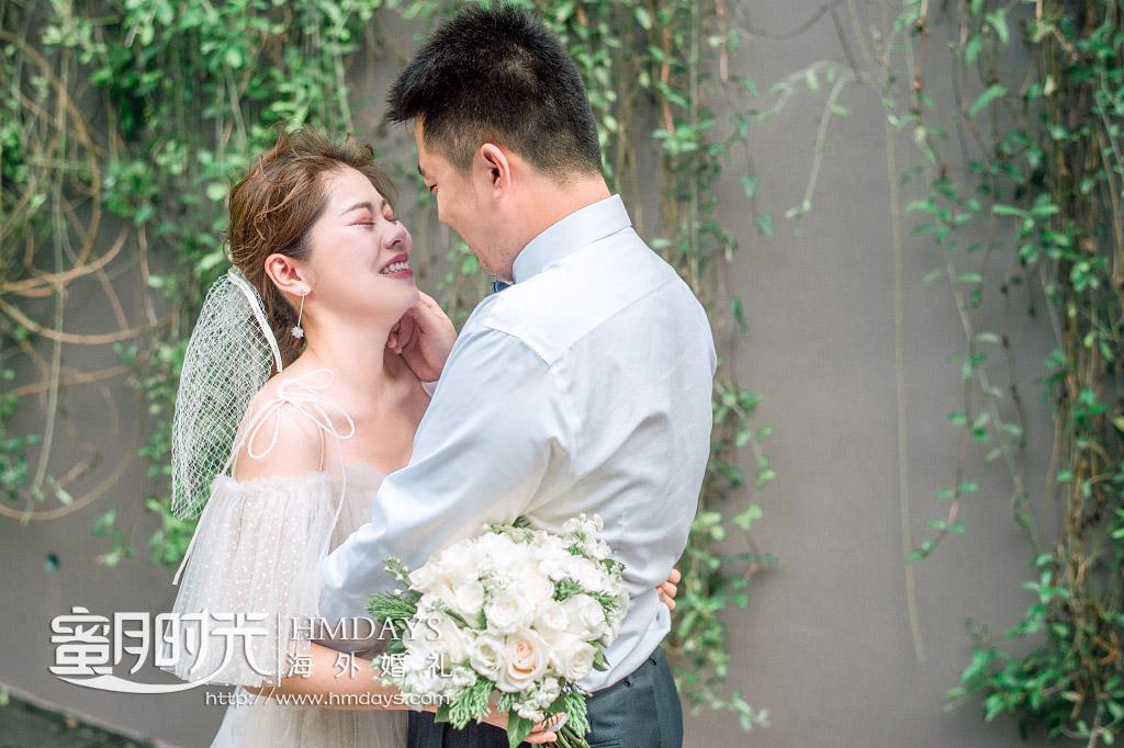 卡马拉海景草坪 婚礼前的frist_look__喜悦的泪水 海外婚礼