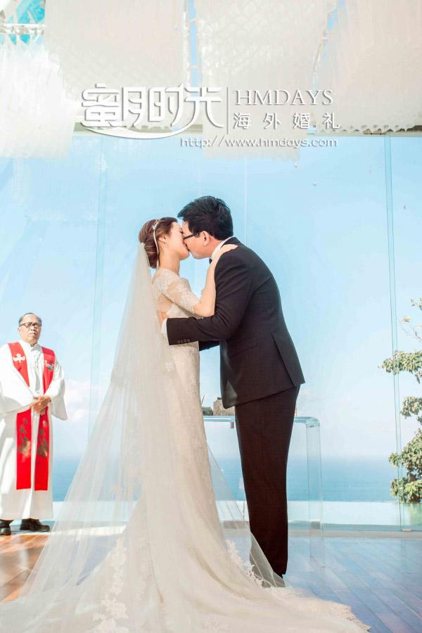 水之教堂婚礼+次日全天外景|KISS亲吻仪式环节|海外婚礼