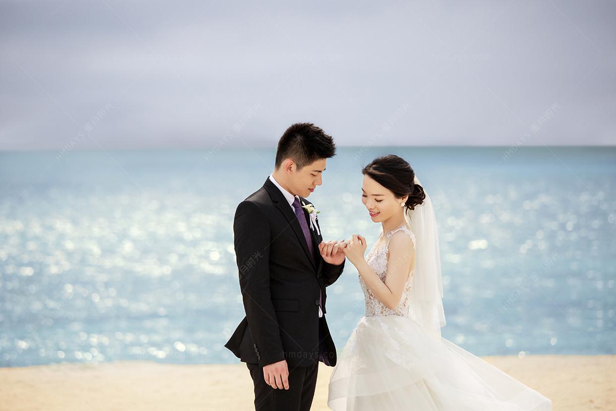 冲绳Okuma Felicia教堂婚礼婚纱照
