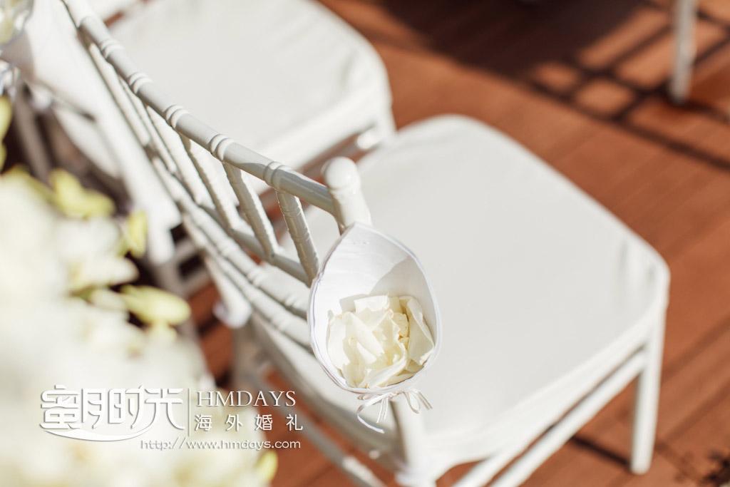 泰国普吉岛铂尔曼(pullman)婚礼婚纱照片|婚礼后的花瓣雨_还贴心的装好|海外婚礼