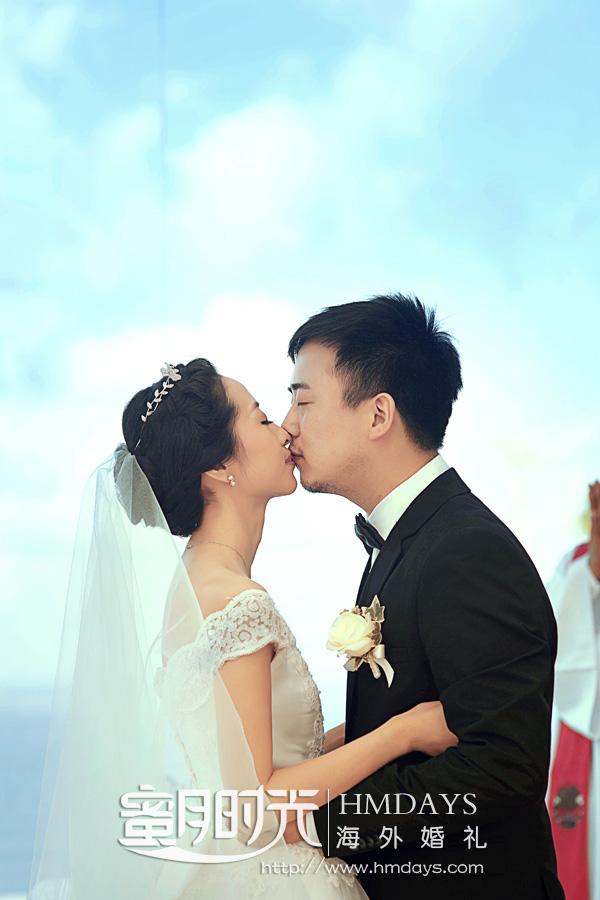 水之教堂婚礼 水之吻 海外婚礼