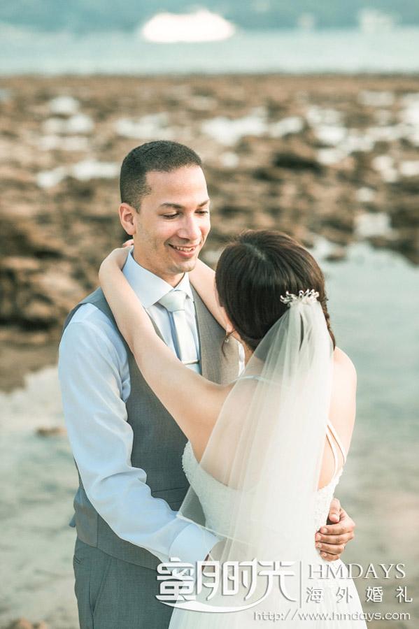普吉岛纳卡海景草坪婚礼|你在我眼中是最美|海外婚礼
