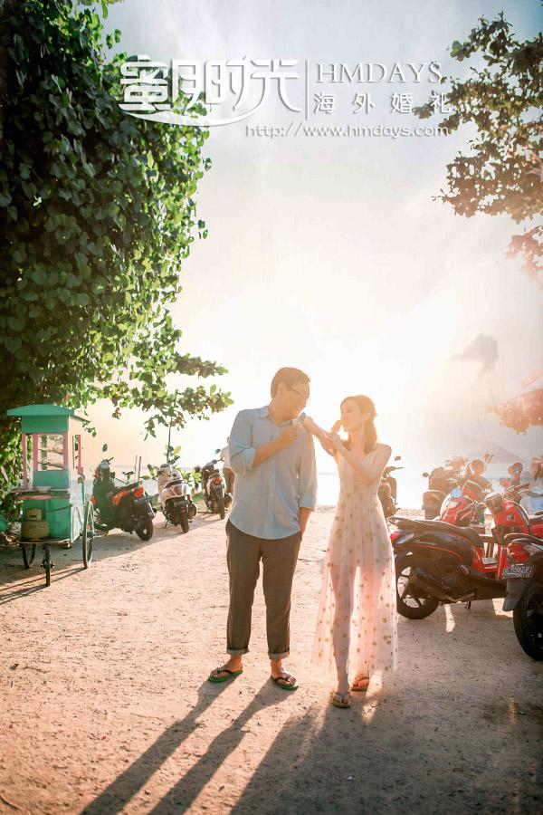 水之教堂婚礼+次日全天外景|巴厘岛街拍婚纱照|海外婚礼