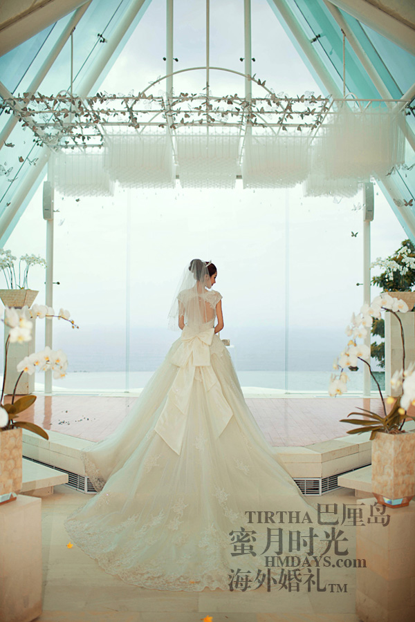 巴厘岛水之教堂婚礼+巴厘岛半日外景婚纱摄影|海外婚礼,美丽的新娘|海外婚礼
