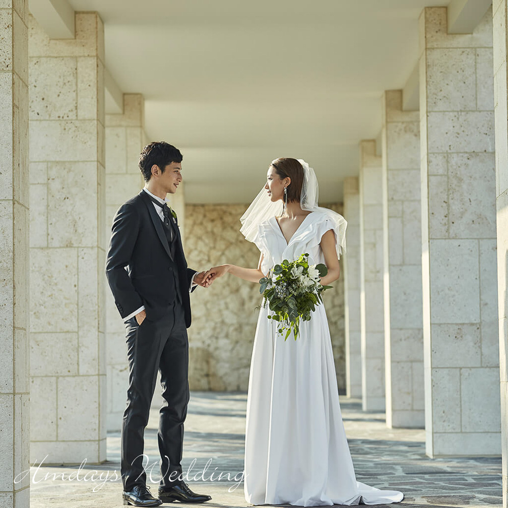 垣岛教堂婚礼|海外婚礼|海外婚纱摄影|照片