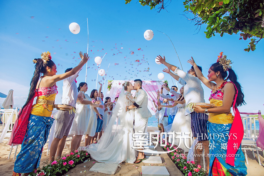 威斯汀沙滩婚礼|海外婚礼|海外婚礼