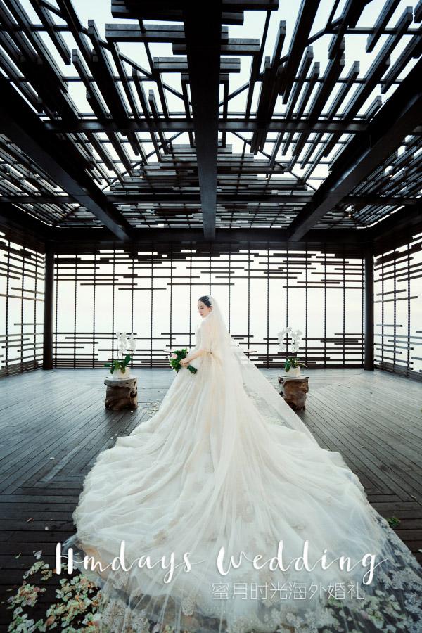 阿丽拉空中平台婚礼W+H 海外婚礼 海外婚纱摄影 照片