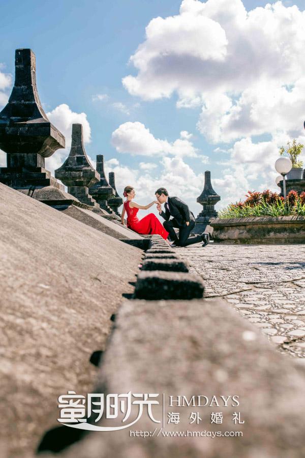 水之教堂婚礼+次日全天外景|巴厘岛纪念碑外景点拍摄取景|海外婚礼