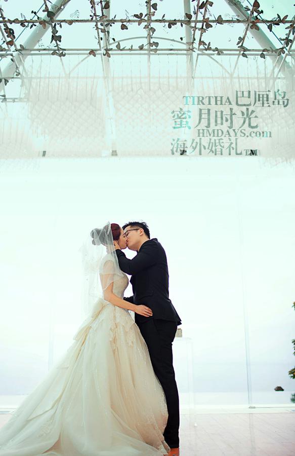 巴厘岛水之教堂婚礼+巴厘岛半日外景婚纱摄影|巴厘岛婚礼,KISS~~|海外婚礼