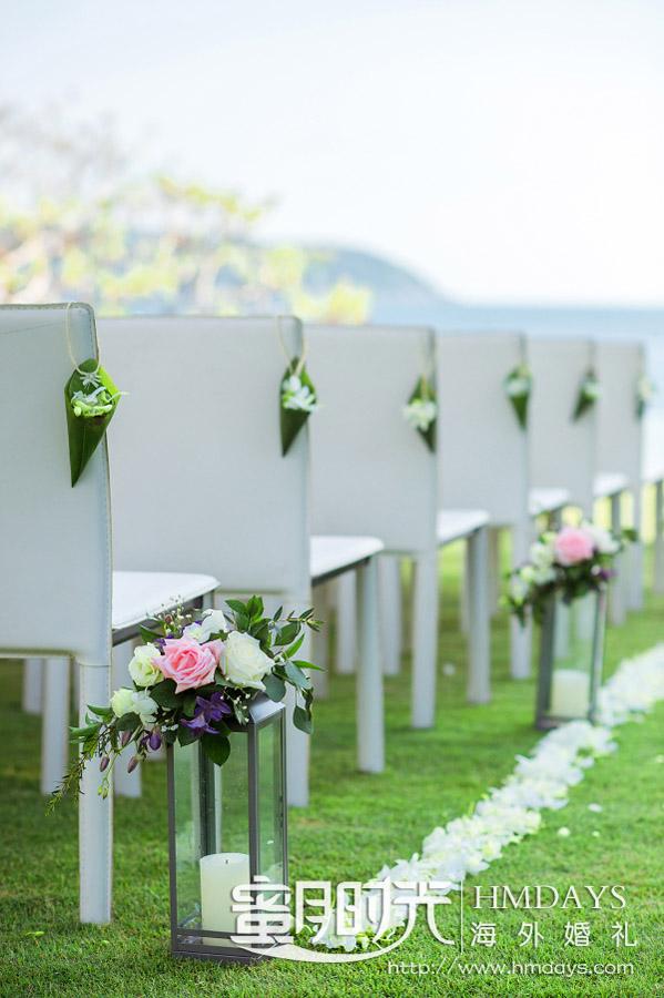 普吉岛纳卡海景草坪婚礼||海外婚礼