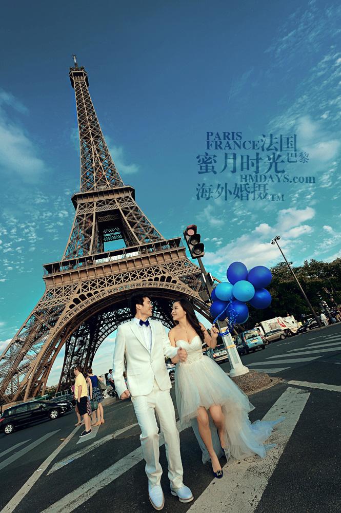 法国巴黎市区一日拍摄|在埃菲尔铁塔下留下永恒的纪念|海外婚礼