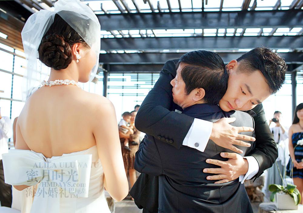 阿丽拉ALILA黄昏婚礼|婚礼上新郎感动泪下|海外婚礼