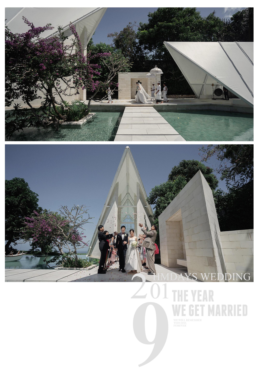 巴厘岛水之教堂|海外婚礼|海外婚纱摄影|照片