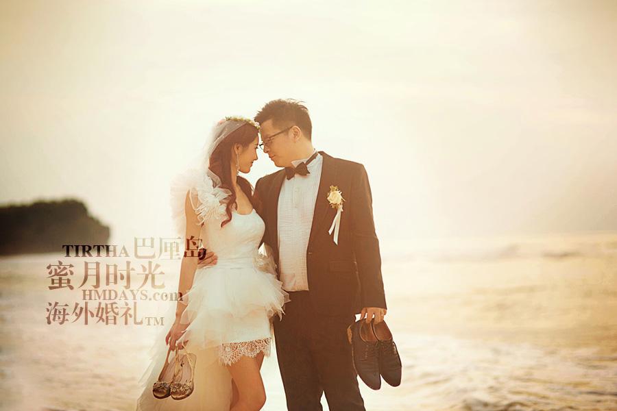 巴厘岛水之教堂婚礼+巴厘岛半日外景婚纱摄影|海外婚礼,你就是我眼中的全部|海外婚礼