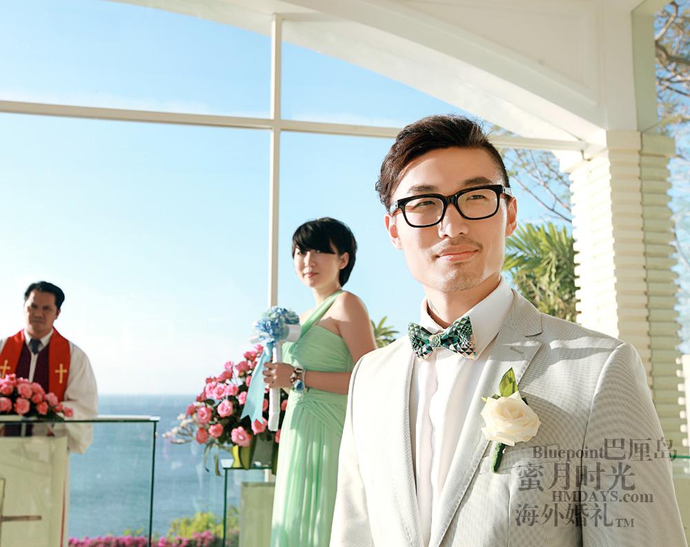 巴厘岛蓝点教堂婚礼--17:30档|巴厘岛玻璃教堂(蓝点)|海外婚礼