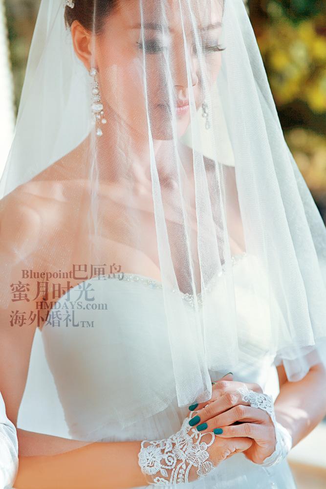 巴厘岛蓝点教堂婚礼--17:30档|虔诚的许下诺言|海外婚礼