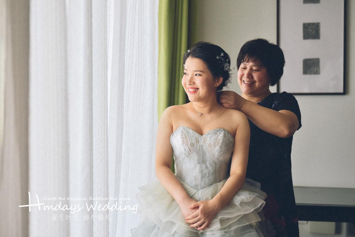 普吉岛卡马拉婚礼+定制布置+晚宴|有妈妈的陪伴是最幸福的|海外婚礼