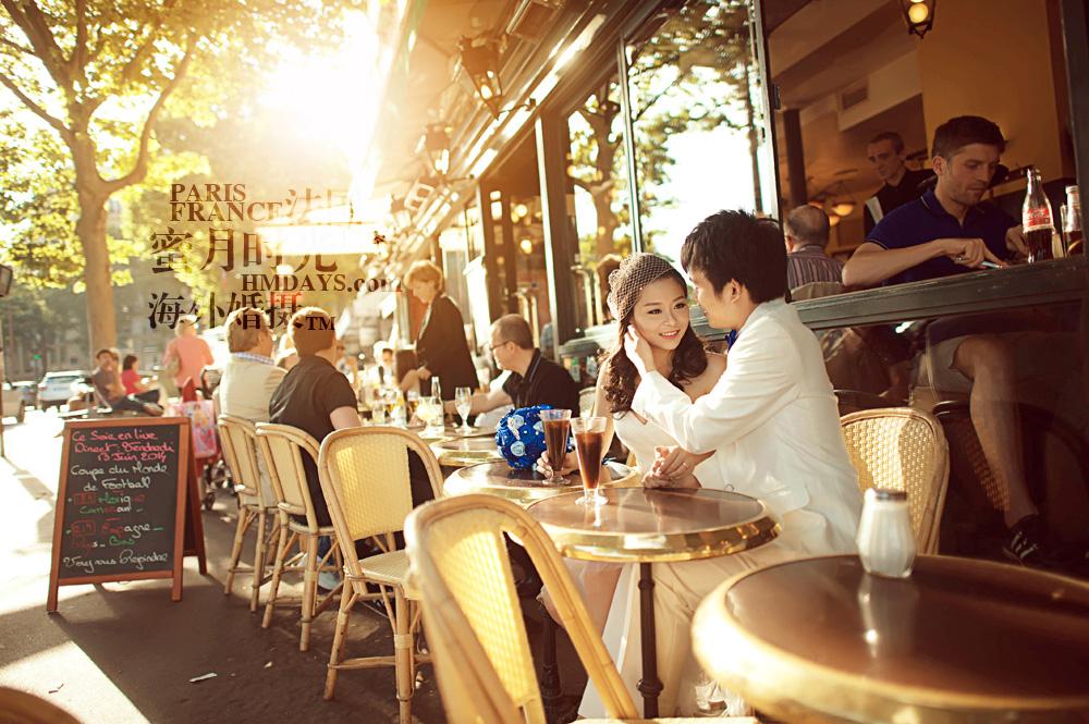 法国巴黎市区一日拍摄|海外婚纱摄影|海外婚礼