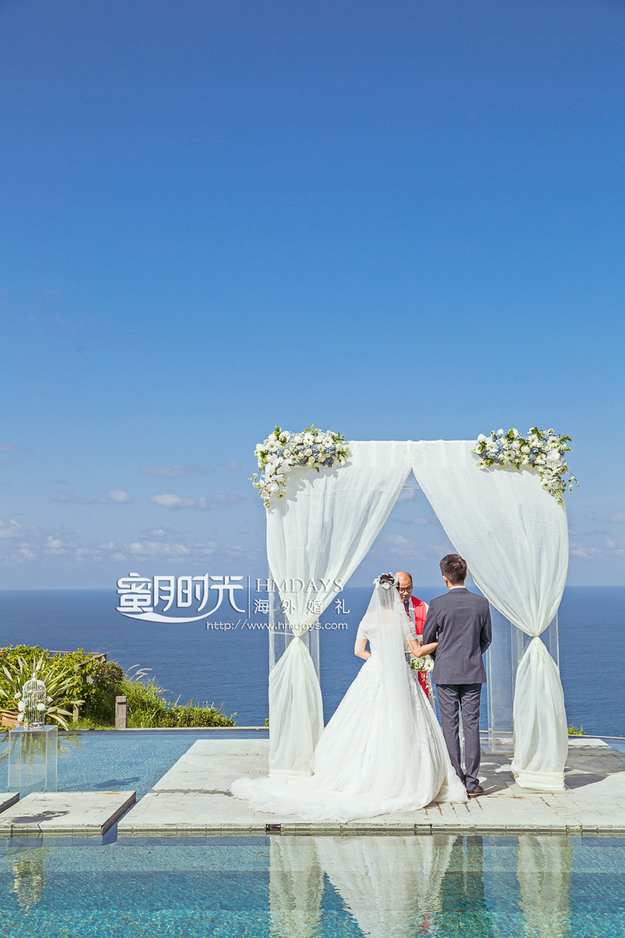 天空之境水台婚礼|海外婚礼|海外婚纱摄影|照片