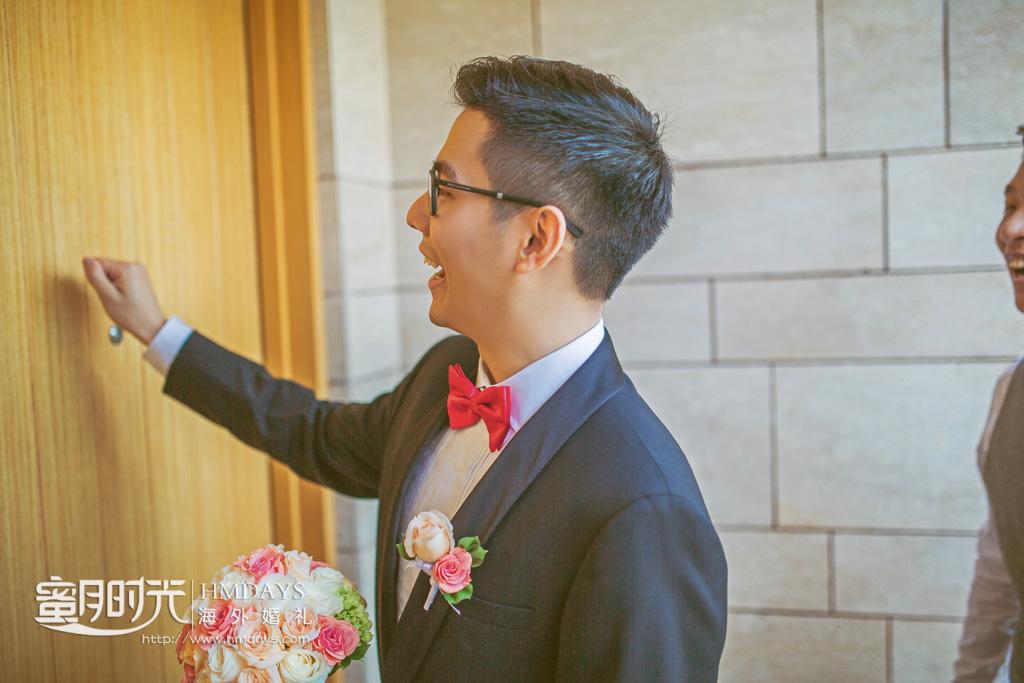 巴厘岛丽思卡尔顿教堂海外婚礼|海外婚礼中加入的中式敲门环节_-蜜月时光巴厘岛海外婚礼|海外婚礼