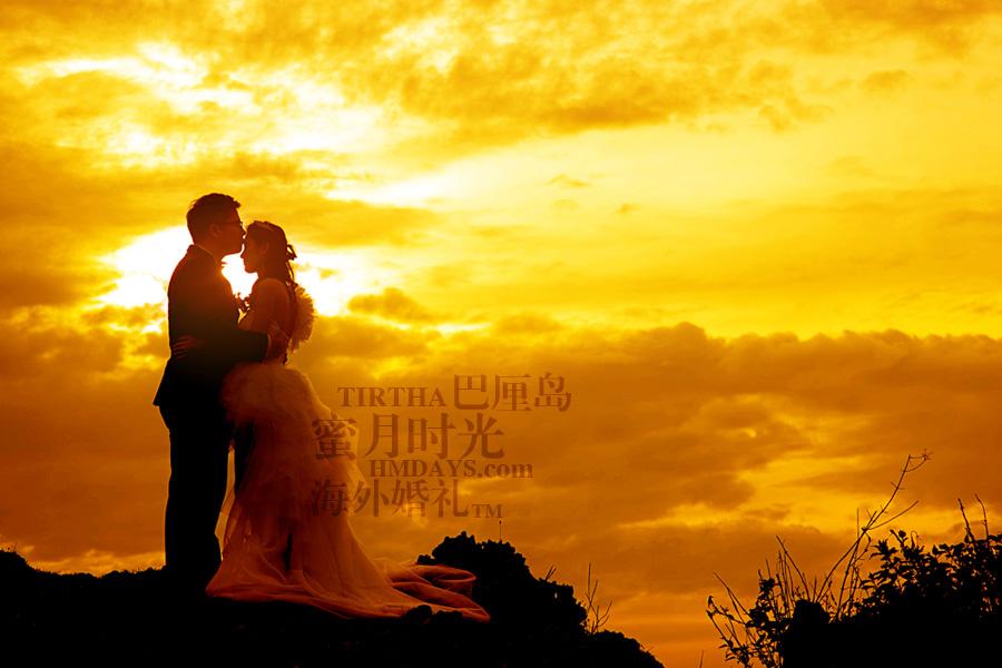 巴厘岛水之教堂婚礼+巴厘岛半日外景婚纱摄影|巴厘岛婚礼,乌鲁瓦图悬崖著名的金色夕阳取景,世界最美夕阳|海外婚礼
