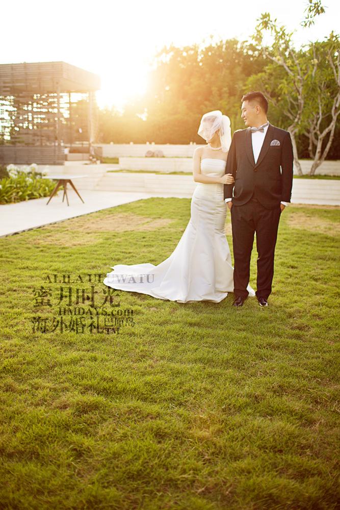 阿丽拉ALILA黄昏婚礼|黄昏下美丽的新人|海外婚礼