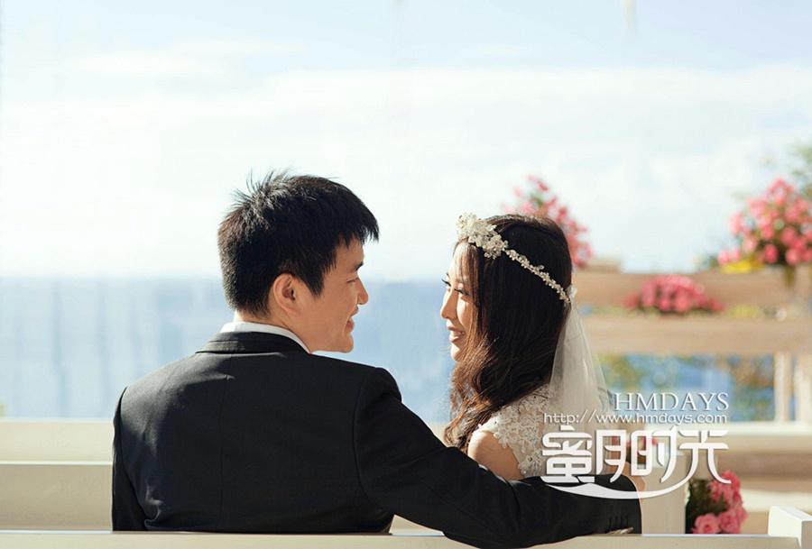 巴厘岛蓝点教堂婚礼婚纱照|凝望,你的美|海外婚礼