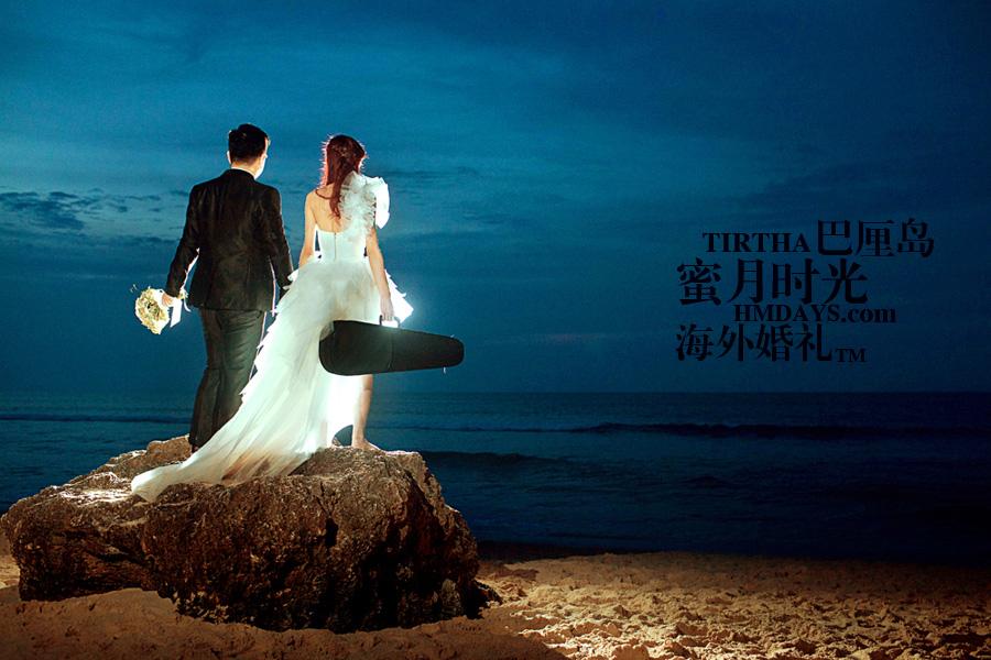 巴厘岛水之教堂婚礼+巴厘岛半日外景婚纱摄影|海外婚纱摄影,执子之手|海外婚礼