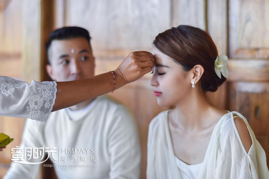 巴厘岛乌干沙别墅高端定制海外婚礼|巴厘岛婚前祈福仪式|海外婚礼